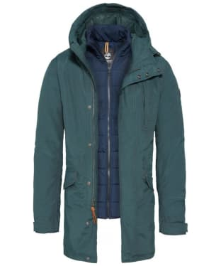 Men's Timberland Snowdon Peak 3-in-1 Fishtail Parka with Dryvent™ Technology - Green Gables