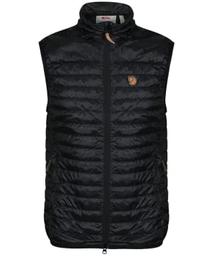 Men's Fjallraven Abisko Padded Vest - Black