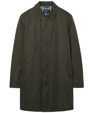 Men's GANT Overcoat - Soil Green