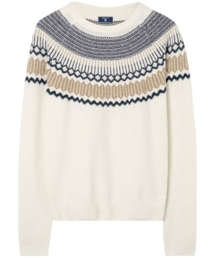 Men's GANT Fairisle Holiday Crew Neck Sweater
