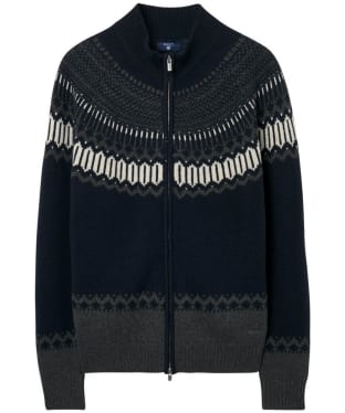 Men's GANT Fairisle Holiday Zip Jacket