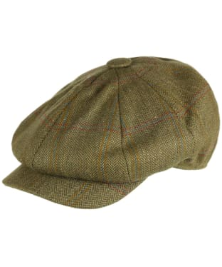 Men's Schöffel Newsboy Cap - Sandringham Tweed