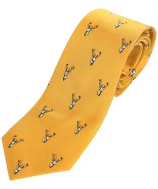 Men's Schöffel Silk Tie - Ochre