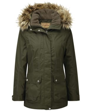 Women's Schöffel Malvern Waterproof Coat - Dark Olive