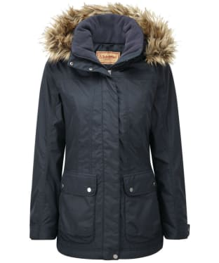 Women's Schöffel Malvern Waterproof Coat - Navy Blue
