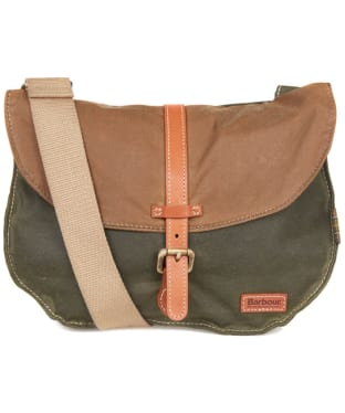 Women's Barbour Helsby Cross Body Bag - Olive / Sandstone