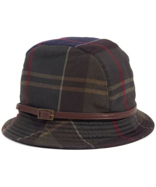 Women's Barbour Winter Tartan Trench Hat - Classic Tartan