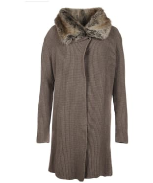 Women's Barbour Fortrose Knit Cardigan - Taupe