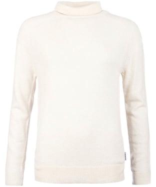 Women's Barbour Mill Roll Neck Sweater - Oatmeal