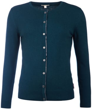 Women's Barbour Lodge Cardigan - Emerald