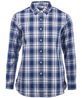 Women's Barbour Northcoates Shirt - Navy Check