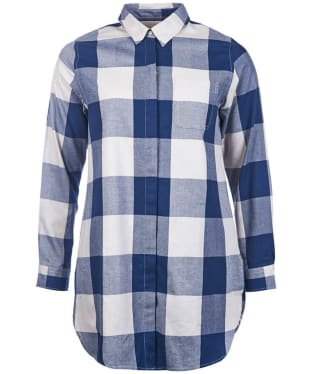 Women's Barbour Hive Tunic - Navy Check