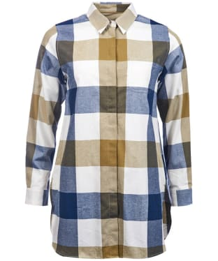 Women's Barbour Hive Tunic - Sage Check