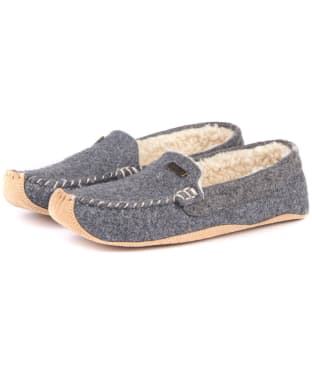 Women's Barbour Betsy Slippers - Grey