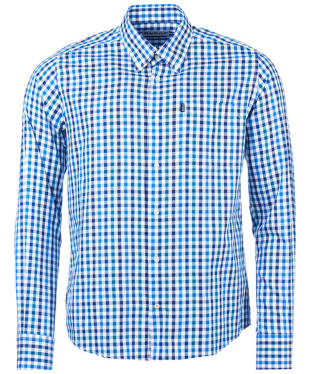 Men's Barbour Bibury Tailored Shirt - Blue Check
