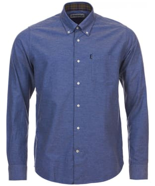 Men's Barbour The Oxford Tailored Fit Shirt - Dark Chambray
