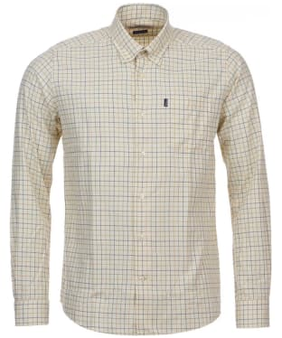 Men's Barbour Dillon Tailored Shirt - Gold Check