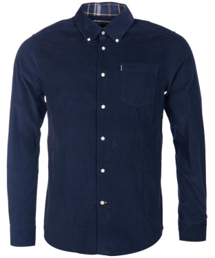 Men's Barbour Morris Tailored Fit Shirt - Navy