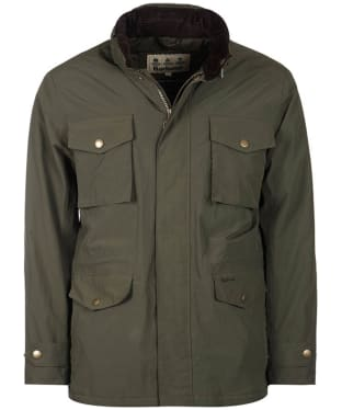 Men's Barbour Jersey Waterproof Jacket - Olive
