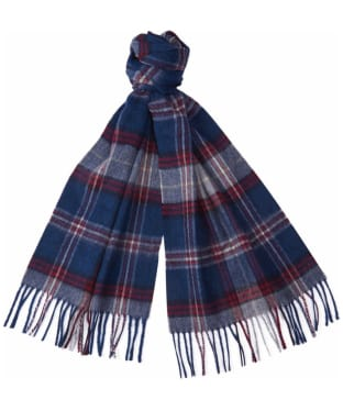 Barbour Wimbrel Scarf - Blue Check