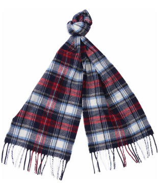 Women's Barbour International Rider Scarf - Navy / Red