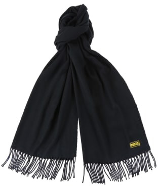 Barbour International Plain Scarf - Black