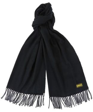 Barbour International Plain Scarf - Black