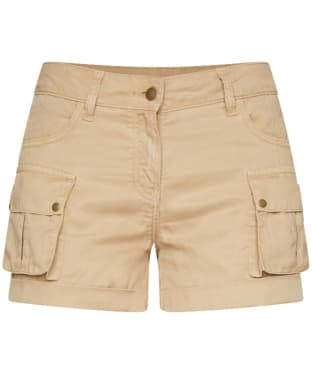 Women's Barbour Crusader Shorts - Dark Stone