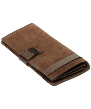 Dubarry Milltown Leather Travel Wallet - Walnut