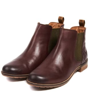Women's Barbour Abigail Chelsea Boot - Wine