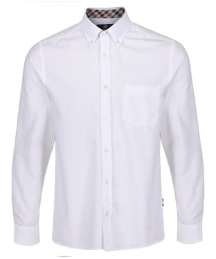 Men's Aquascutum Bevan Classic Oxford Shirt - White