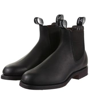 Men's RM Williams Gardener Boots - H fit - Black