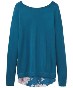 Women's Joules Ellenor Printed Knitted Sweater