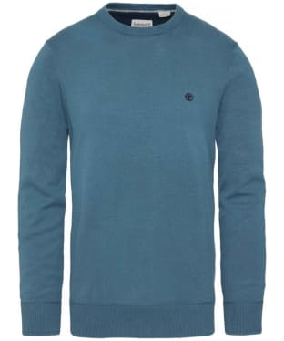 Men's Timberland Williams River Crew Neck Sweater - Orion Blue