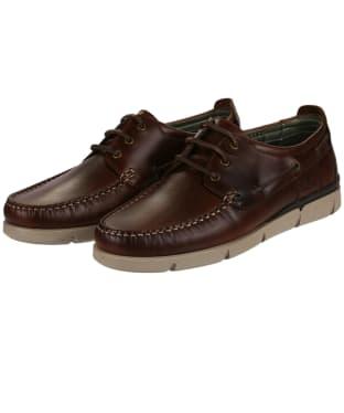 Men's Barbour George Boat Shoe - Brown