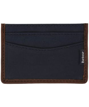 Barbour Drywax Card Holder - Navy