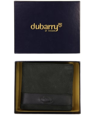 Men's Dubarry Drummin Wallet with Coin Holder - Black