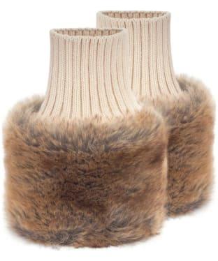 Women's Dubarry Carton Faux Fur Cuffs