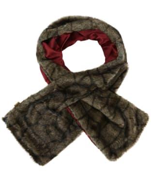 Women's Dubarry Altamont Faux Fur Wrap - Elk