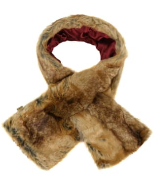 Women's Dubarry Altamont Faux Fur Wrap - Chinchilla