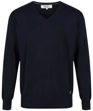 Men's Dubarry Carson V-neck Sweater - Navy