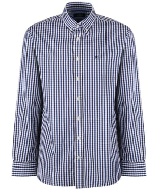 Men's Hackett Classic Check Shirt - Navy