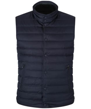 Men's Hackett Reversible Gilet - Navy / Green