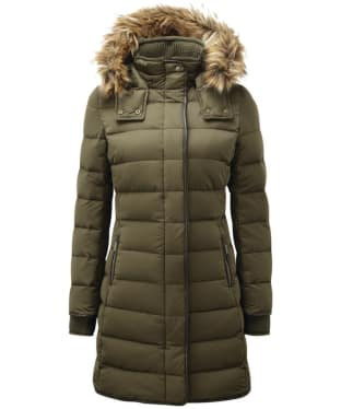 Women's Schoffel Mayfair Down Coat - Olive