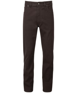 Men's Schoffel Canterbury 5 Pocket Jeans - Espresso