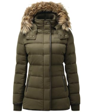 Women's Schoffel Kensington Down Jacket - Olive