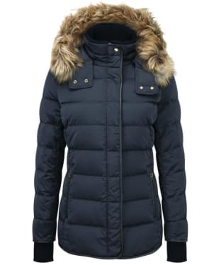 Women's Schoffel Kensington Down Jacket - Navy Blue