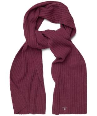 Men's GANT Cotton Wool Scarf