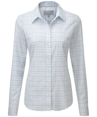Women's Schöffel Ladies Tattersall Shirt - Blue Tattersall