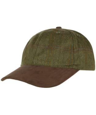 Schöffel Tweed Baseball Cap - Sandringham Tweed